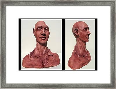 The Philosopher Framed Print by Julianna Wells