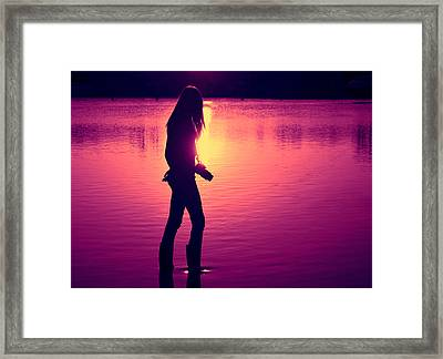 The Photographer Framed Print by Laura Fasulo