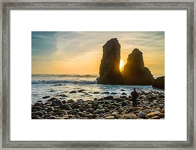 The Photographer's Quest II Framed Print by Marco Oliveira