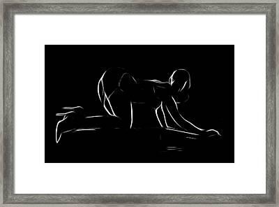 The Piano Girl Framed Print by Steve K
