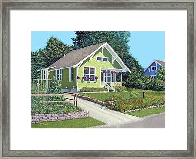 Our Neighbour's House Framed Print by Gary Giacomelli