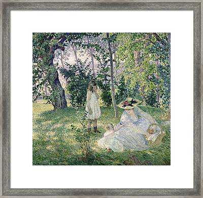 The Picnic Framed Print by Henri Lebasque