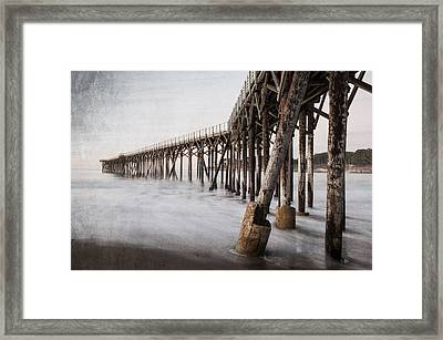 The Pier Framed Print by George Buxbaum