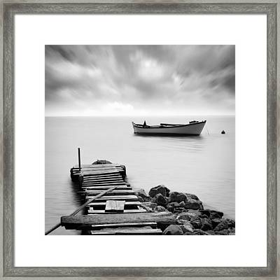The Pier Framed Print by Taylan Soyturk