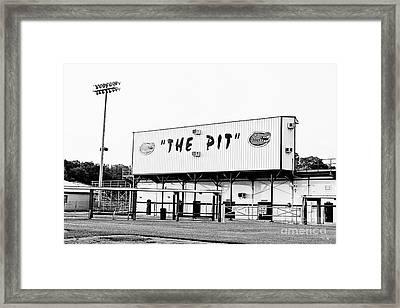 The Pit Framed Print by Scott Pellegrin