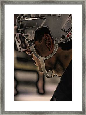 The Player Framed Print by Karol Livote
