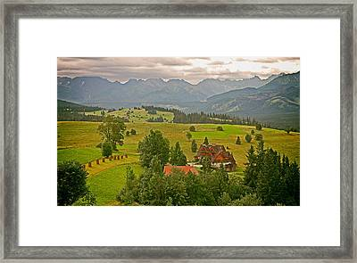 The Podhale Region Of Poland Framed Print by Mountain Dreams
