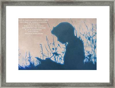 The Poet Framed Print by Dan Sproul