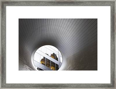 The Point Of View Framed Print by Joanna Madloch