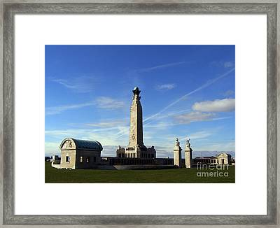 The Portsmouth Naval Memorial Southsea Framed Print by Terri Waters