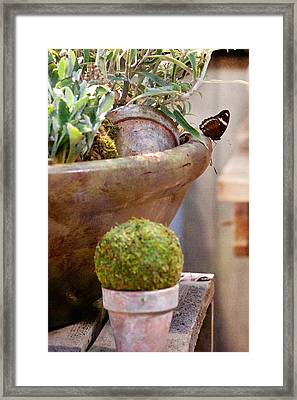 The Potting Shed Framed Print by Art Block Collections