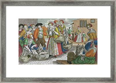 The Poultry Market Framed Print by Martin Engelbrecht