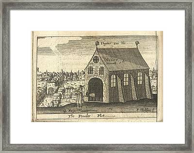 The Powder Plot Framed Print by British Library
