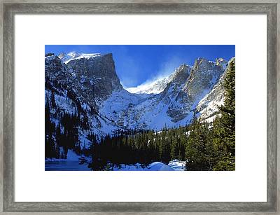The Power And The Glory Framed Print by Eric Glaser