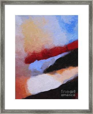 The Power Of Color Framed Print by Lutz Baar