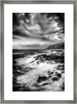 The Power Of Nature Framed Print by John Farnan