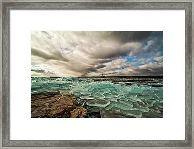 The Power Of Nature Framed Print by Matt Molloy