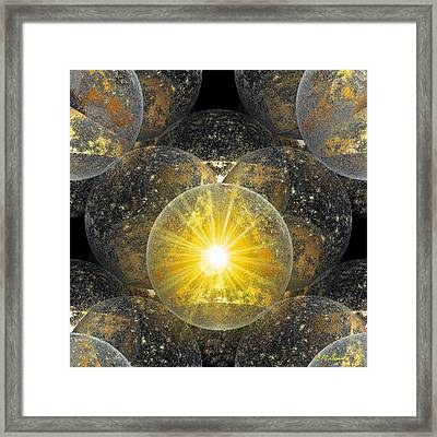 The Power Of One Framed Print by Michael Durst