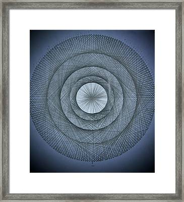 The Power Of Pi Framed Print by Jason Padgett
