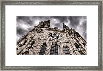 The Power Of The Church Framed Print by Olivier Le Queinec