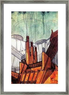 The Power Plant #1 Framed Print by Loris Bagnara