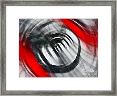 The Present Framed Print by Gwyn Newcombe