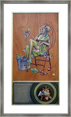 The Princess And The Frogs Framed Print by Patrick Anthony Pierson