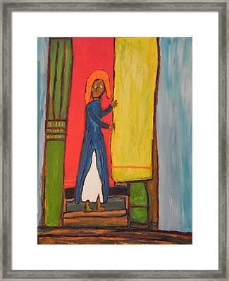 The Princess Framed Print by David P Klein art
