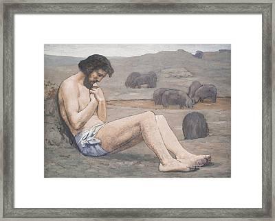 The Prodigal Son Framed Print by Pierre Puvis de Chavannes