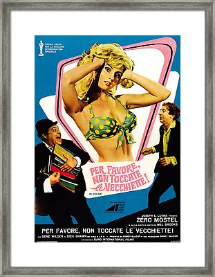 The Producers Aka Per Favore, Non Framed Print by Everett