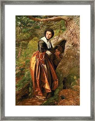 The Proscribed Royalist, 1651, 1852-53 Framed Print by Sir John Everett Millais