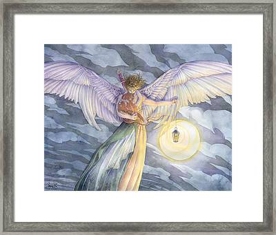 The Protector Framed Print by Sara Burrier