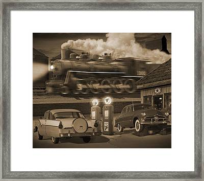 The Pumps 2 Framed Print by Mike McGlothlen