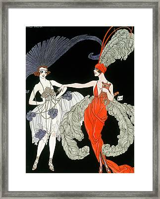 The Purchase  Framed Print by Georges Barbier