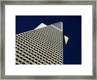 The Pyramid Framed Print by Bill Gallagher