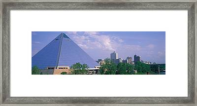 The Pyramid Memphis Tn Framed Print by Panoramic Images