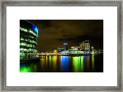 The Quays Framed Print by Brendan Quinn