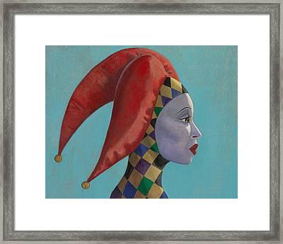 The Queen Framed Print by Leonard Filgate