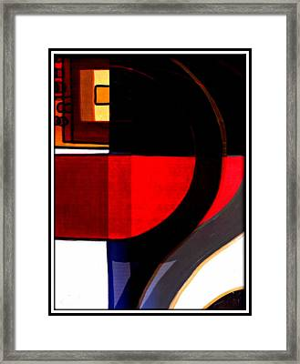 The Question Framed Print by Wendie Busig-Kohn
