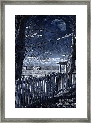 The Quicksand Of Time Framed Print by John Stephens