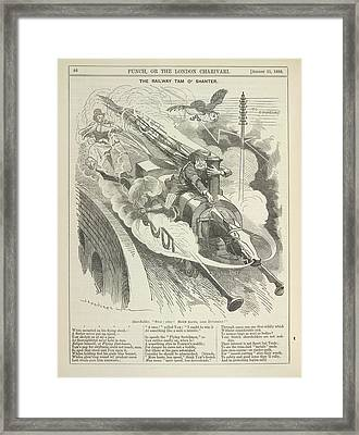 The Railway Tam O'shanter Framed Print by British Library