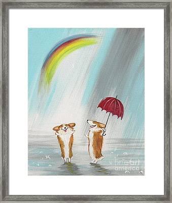 The Rainbow Framed Print by Margaryta Yermolayeva