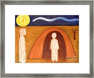 The Raising Of Lazarus Framed Print by Patrick J Murphy