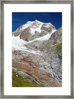 The Rapidly Retreating Glaciers Framed Print by Ashley Cooper