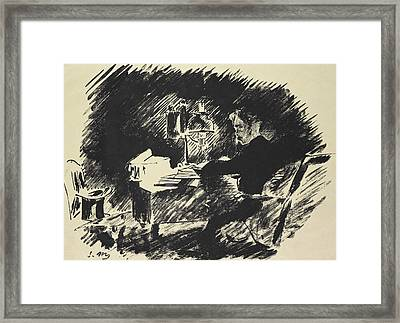 The Raven Framed Print by Edouard Manet