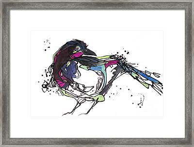 The Ravishing One Framed Print by Nicole Gaitan