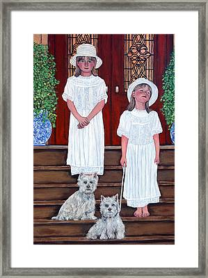 The Ray Twins Framed Print by Tom Roderick