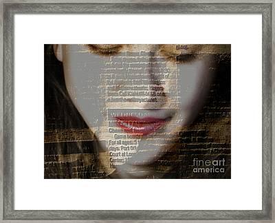 The Reader Framed Print by Steven  Digman