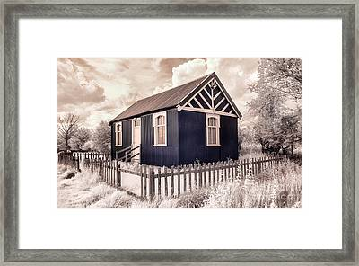 The Reading Room Appleton Le Moors Framed Print by Janet Burdon