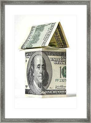 The Real Estate - The Real Money Framed Print by Alex Potemkin